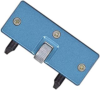 Professional Watch Back Remover Tool, Metal Adjustable Rectangle Watch Back Case Cover Press Closer & Opener Opening Remov...