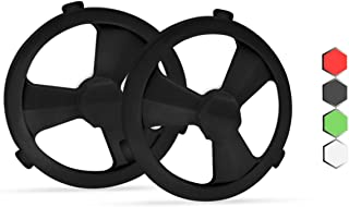 Hexnub Stunt Hubs for Sphero Ollie Robotic Toy - Accessories to Boost Your App-Enabled Robots - Black