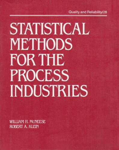 Statistical Methods for the Process Industries (Quality and Reliability)