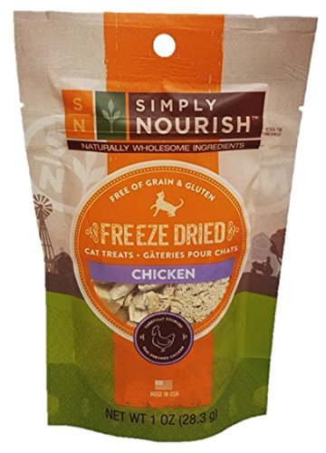 Simply Nourish Freeze Dried Cat Treats (Pack of 2) (Chicken)