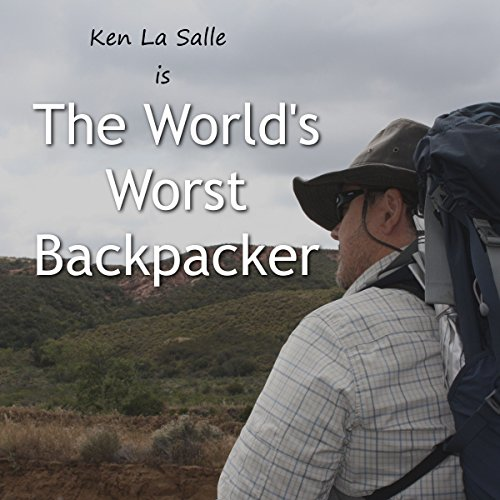 The World's Worst Backpacker audiobook cover art