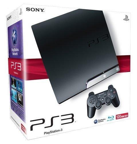 Console PS3 120 Go noire + Manette PS3 Dual Shock 3 - noire