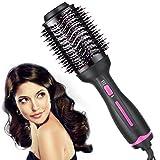 Hair Dryer Brush,Hot Air Brush, Hair Dryer & Volumizer, Styler for Straightening, Curling,Salon