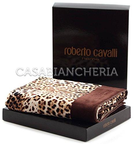 Roberto Cavalli Toalha Bravo Castanho Banheira Banheira