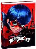 Miraculous Diario escolar Ladybug original 2021/2022 + bolígrafo brillante + colgante