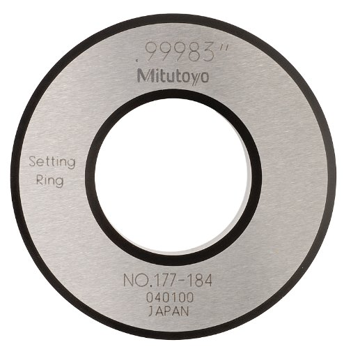 Mitutoyo 177-184 Setting Ring, 1.0