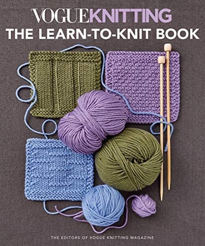 Vogue Knitting The Learn to Knit Book product image
