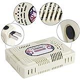 YUUGAA Deshumidificador eléctrico, Mini deshumidificador eléctrico Reutilizable Eliminación de Humedad de la habitación del hogar Absorber con Gel de sílice