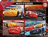 Cars- peliculas y TV Multipuzzle, 50-80-100-150 Piezas (Educa Borrás 17179)
