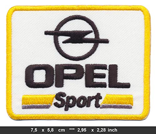 German Motors Opel Sport Patches Aufnäher Aufbügler Automobile Kadett Corsa Astra GT
