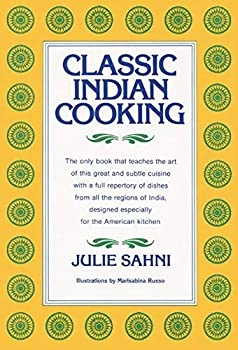 Hardcover Classic Indian Cooking Book