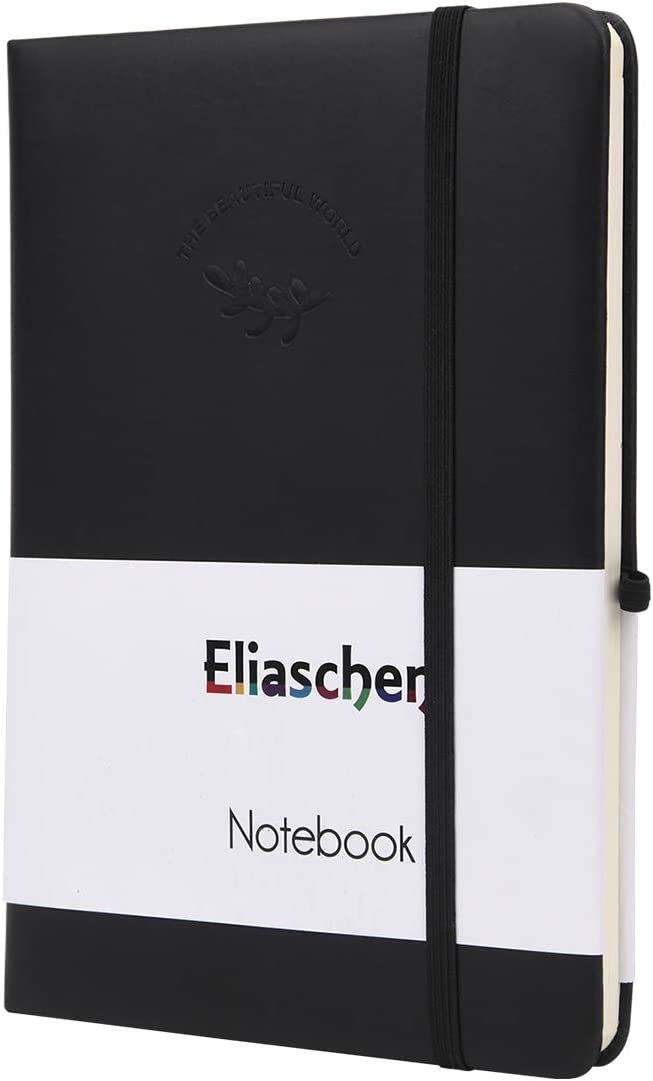 Eliaschen cheap Classic Notebook Journal Lined with Opening large release sale Notebooks Inner P
