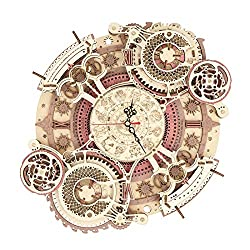 RoWood 3D Wooden Puzzles for Adults & Teens, Mechanical Gear Model Kit