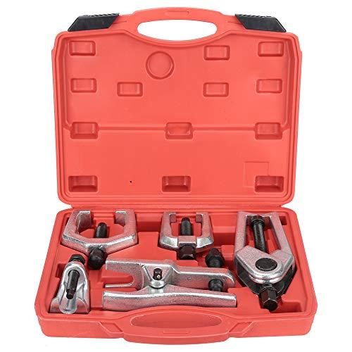 Kit de herramientas de reparación, 5 piezas Kit de herramientas de servicio de extremo delantero Extractor de separador de junta de rótula de brazo Pitman