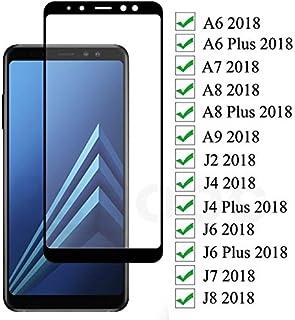 VINTO-Phone Screen Protectors - 9D Protective Glass On the For Samsung Galaxy A6 A8 J4 J6 Plus 2018 J2 J8 A7 A9 2018 Tempe...