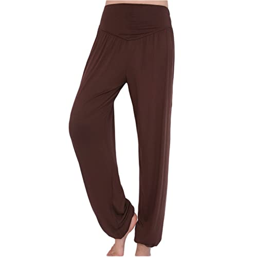 64109b886 AvaCostume Womens Modal Cotton Soft Yoga Sports Dance Harem Pants