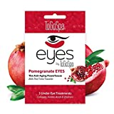 Pomegranate EYES by ToGoSpa – Premium Anti-Aging Collagen Gel Pads for Puffiness, Dark Circles, and Wrinkles – Under Eye Rejuvenation for Men & Women - 1 Pack - 3 Pair