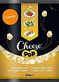 Cheesepop palomitas de queso snack - 100% Queso ...sorprendentemente crujiente! etiqueta limpia - natural - vegetariano - sin carbohidratos - ceto - alto en protínas - fuente de calcio - sin gluten