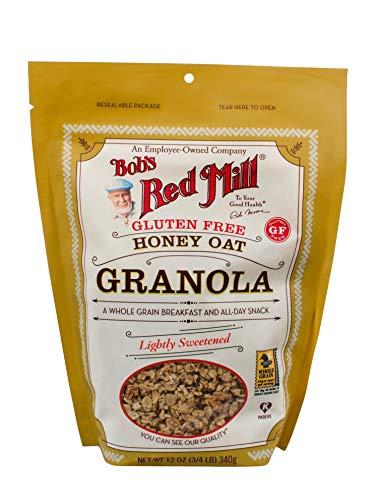 Bob's Red Mill Granola Gluten Free Honey Oat, 12 oz