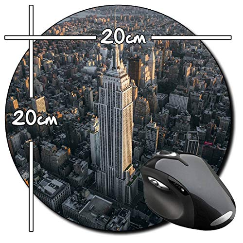 New York Kennzeichen Metall Schild Plate Empire State 30 cm Souvenir