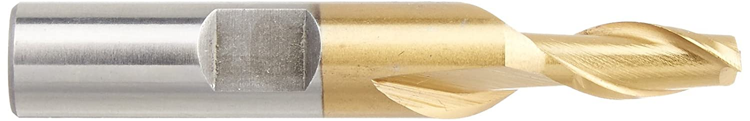 HHIP 5801-0125 1//8 x 3//8 2 Flute High Speed Steel Single End Center Cut End Mill