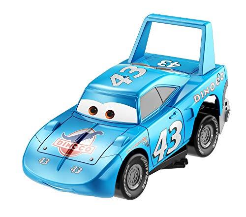 Disney Cars Turbo Racers Vehículo Strip Weathers aka 'The King, coches de juguete niños +3 años (Mattel GFY55) , color/modelo surtido
