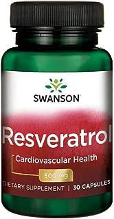 Swanson Resveratrol 500 500 Milligrams 30 Capsules