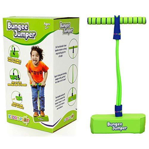 KiddyPlay Bungee Jumper - Childrens Fun & Safe Soft Pogo Stick Bouncer