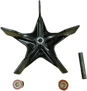 John Deere power flow blower fan, bearings, shaft 48C 54C 54D 60D 62C M144110