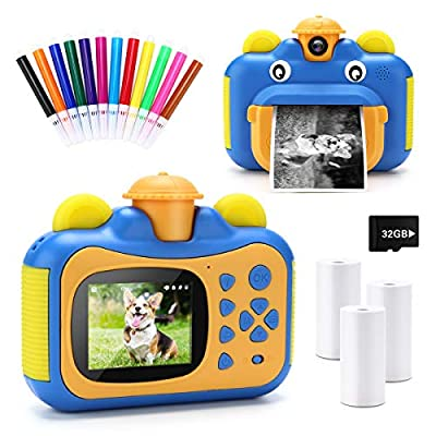 INKPOT KX01 Instant Print Camera for Kids by INKPOT