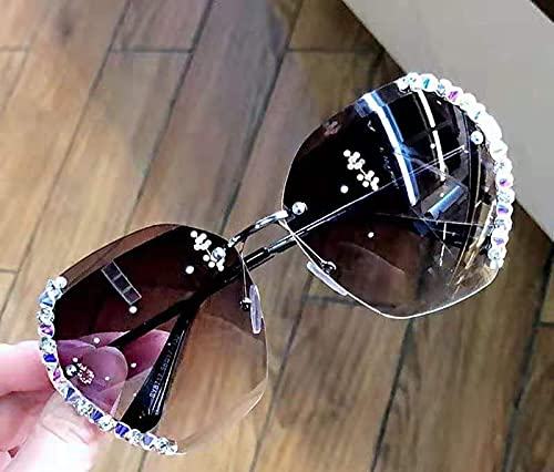 TUJHGF Gafas De Sol Anti Ultravioleta para Mujer Las Gafas De Sol para Mujer Son Adecuadas para Viajes Al Aire Libre, Ciclismo y Golf,A