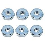 Hipa (Pack of 6 Sprocket Cover Bar Nut for STHIL 010 011 012 024 026 028 029 030 031 032 034 036 038 039 041AV 042 044 046 048 064 066 Chainsaw