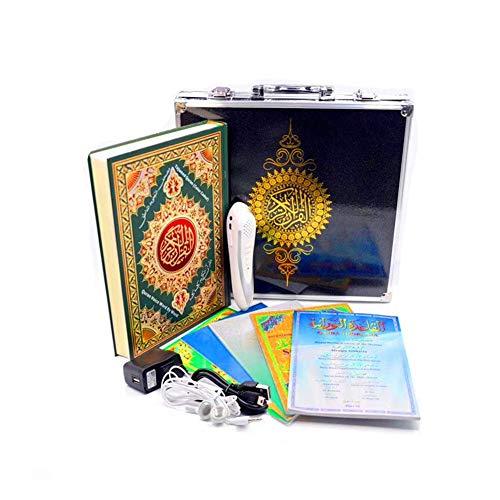 Sucastle Koran-Sprecher Quranlesefeder Islamische Smart Electronic Reden 8GB Wort-für-Wort-Digital-Holy Quran Pen Reader mit 6 Büchern