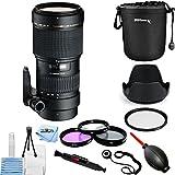 Tamron 70-200mm f/2.8 Di LD (IF) Macro AF Lens for Canon Eos AF001C-700 [International Version] (Pro Bundle)