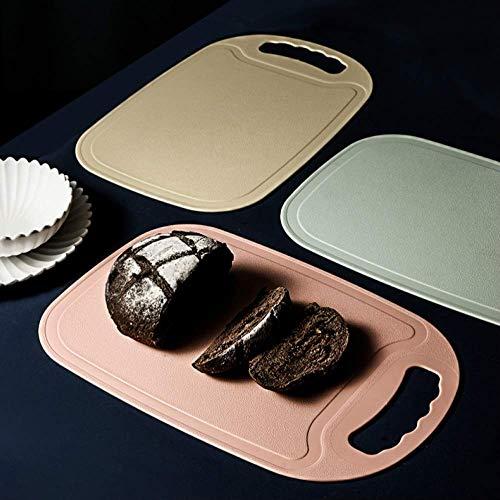 Leichte Kunststoff Schneiden Bord/Home Küche Schneiden Bord/BPA FREI/Spülmaschinenfest/Nicht-slip Anti-mehltau (34,6 × 22,6 Cm) 4 Farben