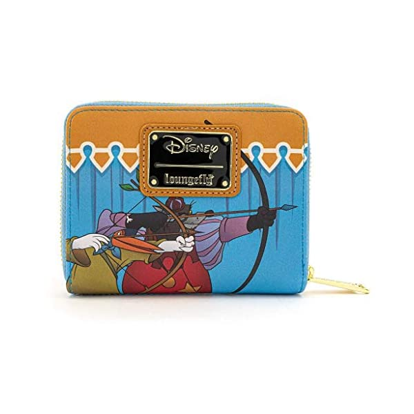 Loungefly x Disney Robin Hood Archery Tournament Zip-Around Wallet, Multi, One Size
