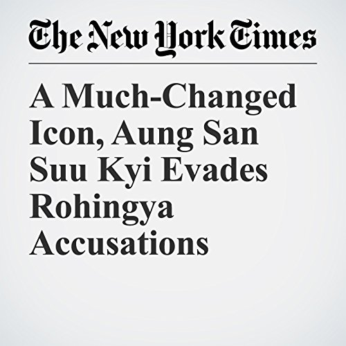 A Much-Changed Icon, Aung San Suu Kyi Evades Rohingya Accusations copertina