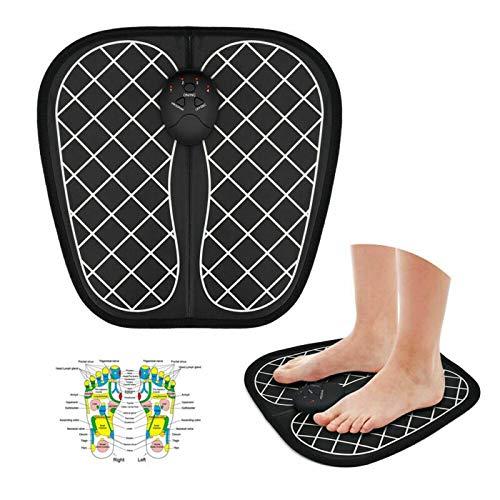 WJH 2 PCS EMS Intelligent Fußmassagegerät Fußmassage Blut-Zirkulation-Maschine