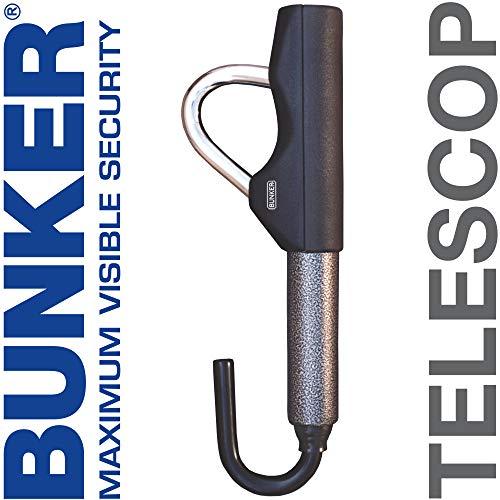 Bunker BT29B Barra antirrobo Coche telescopica Volante Pedal Alta Seguridad
