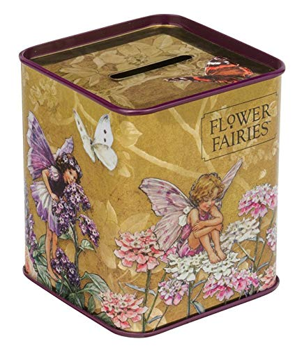 Elite Gift Boxes Hucha Cuadrada 'Flower Fairies'