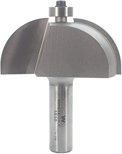 new arrival Whiteside Router Bits 2021 1810 Cove Bit with 1-Inch Radius, 2-1/2-Inch Large Diameter lowest and 1-Inch Cutting Length outlet sale