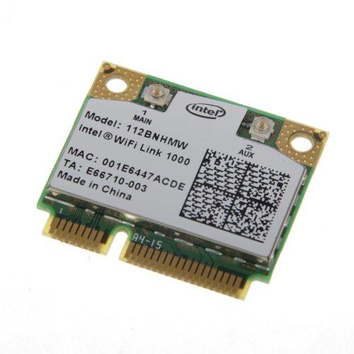 Intel Wifi Link 1000 Mini PCI Express Wireless-N Karte 802.11b/g/n 2,4 GHz 112BNHMW 300Mbps