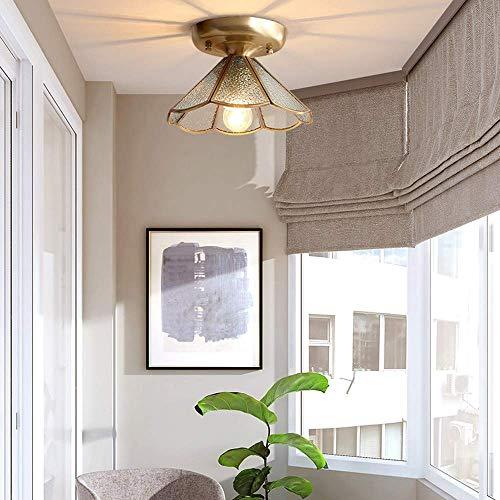 CHNG Lámpara Colgante de Dormitorio Moderno Lámpara de Techo de Cobre dúplex Lámpara de Techo de Estilo Europeo Candelabro Minimalista para Sala de Estar Villa Candelabro de Moda Candelabro de re