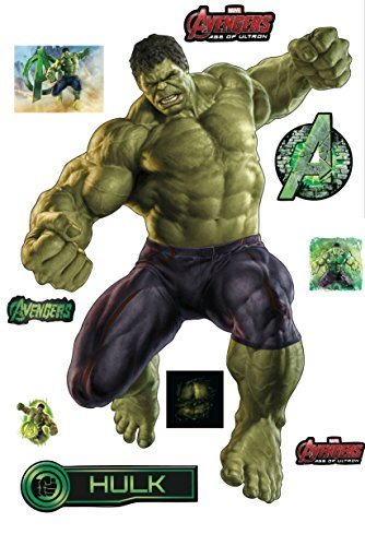 Stickersnews-Hulk Avengers Wall Stickers (28 x 40 cm - 15036 by StickersNews