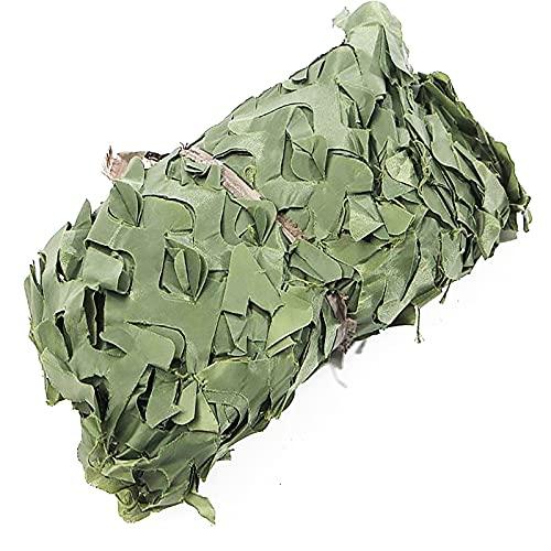 Red De Camuflaje Militar Ligero, Red De Sombra, Red De Camuflaje Ejército Caza Red Camuflaje Militar Para El Bosque Ejército De Caza De Campo Cobertura Al Air(Size:1.5×8m/4.9ft×26.2ft,Color:verde)