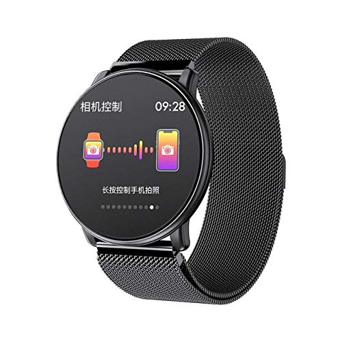 SSXZ Reloj Inteligente Hombres Soporte Correa de Repuesto DIY Watch Faces Modos multideportivos Monitor de Ritmo cardíaco Smartwatch como blackblacksteel