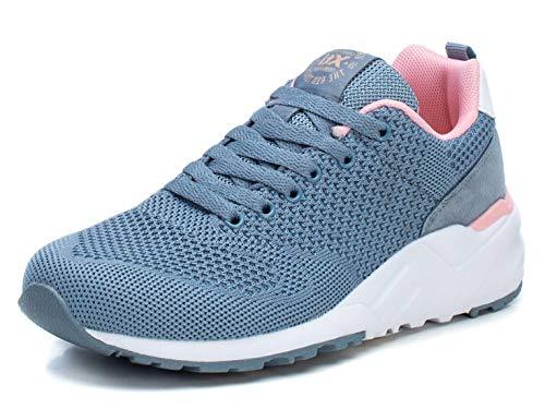 XTI 49911.0, Zapatillas Mujer, Azul (Jeans Jeans), 38 EU