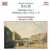 J.C. バッハ:交響曲集 1