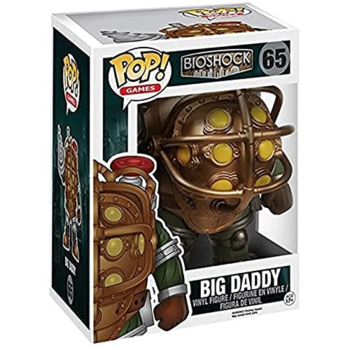 Jokoy Funko Pop Games : Bioshock - Big Daddy 6inch Vinyl Gift for Game Fans Chibi