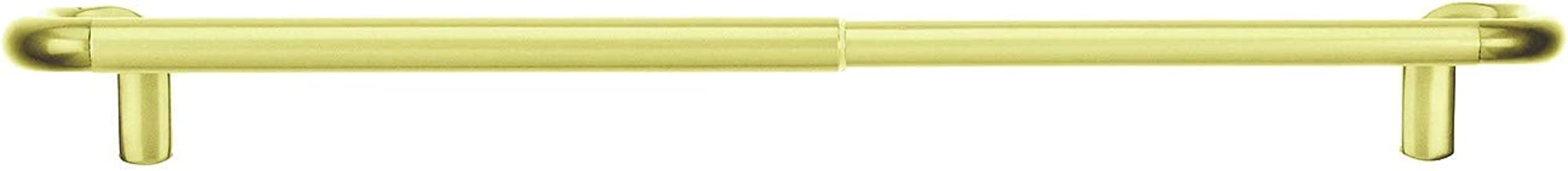 Umbra Twilight Room Darkening Wrap Around Perfect for Blackout, Telescoping Curtain Rod, 28 to 48-Inch, Brass